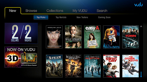 does playstation store rent 3d movies