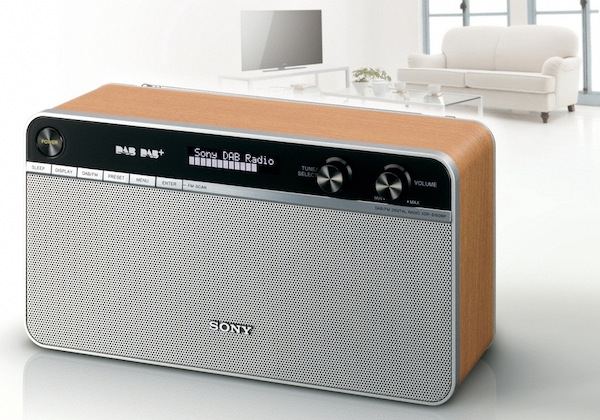 sony 39 s xdr s16dbp radio goes old school sonyrumors. Black Bedroom Furniture Sets. Home Design Ideas