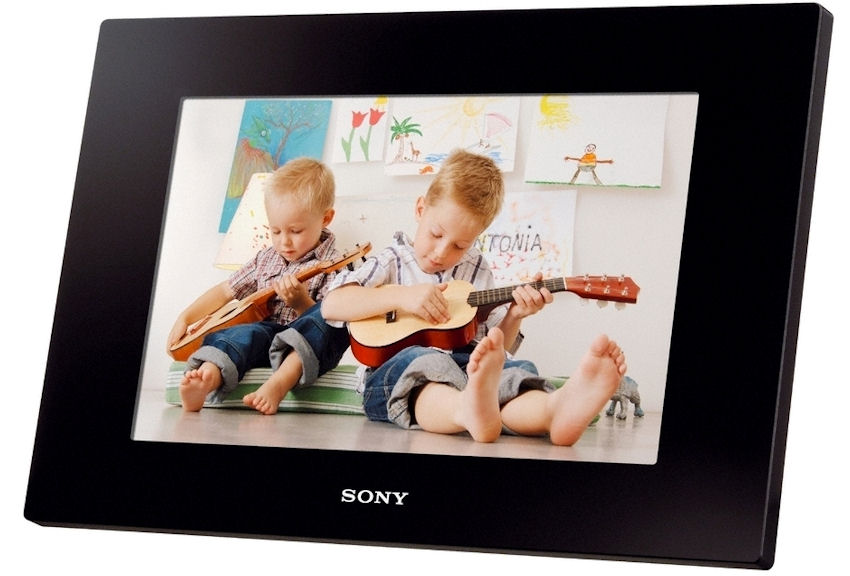 Sony DPF-D1020 Digital Photo Frame Review (video) - SonyRumors.net SRN