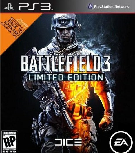 Battlefield 3 Timed Exclusives For PlayStation 3
