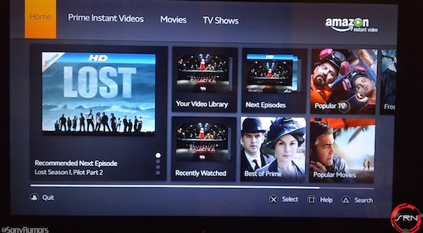 PlayStation 3 Amazon Instant Video App Overview (video)