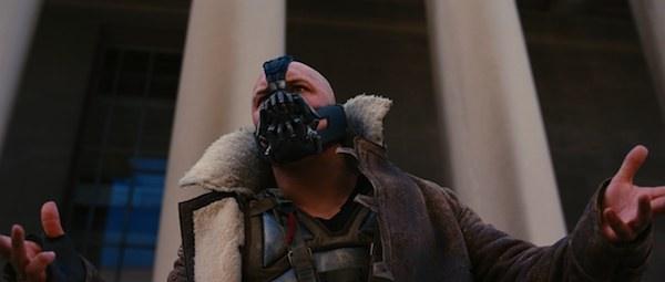 The Dark Knight Rises Blu-ray Bane
