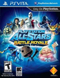 PlayStation All-Stars: Battle Royale Vita Cover