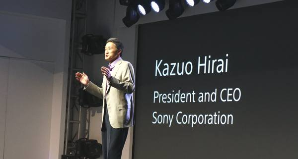 CES 2013 Sony press conference