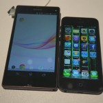CES_2013_Xperia_Z_iPhone_5_6