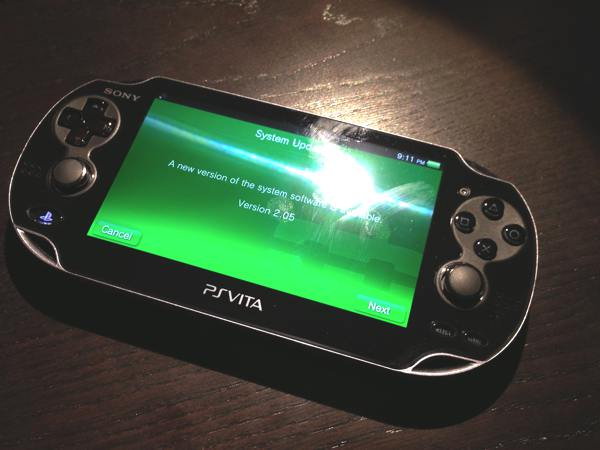 PlayStation Vita System Software Update v2.05