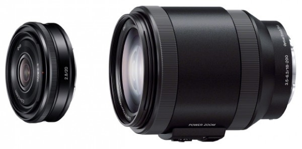 e-mount lenses