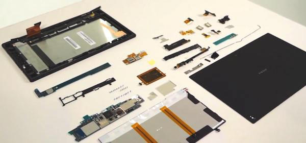 Sony Xperia Tablet Z Teardown