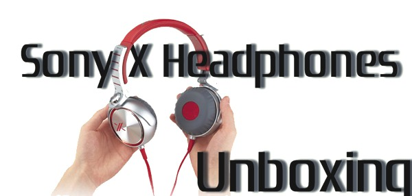 Featured Sony X Headphones Unboxing