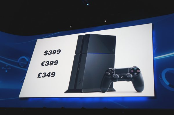 E3 2013 PS4 Price Reveal