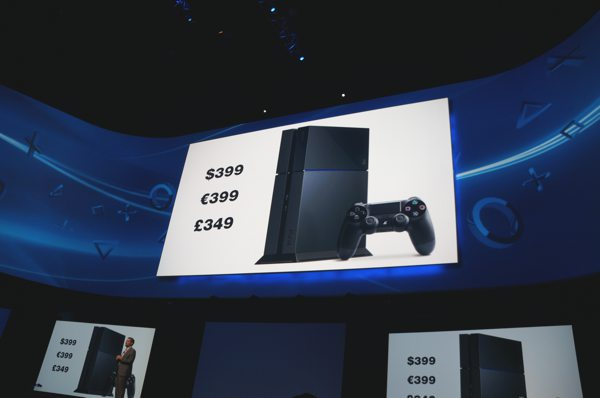 E3 2013 PS4 Price Tag