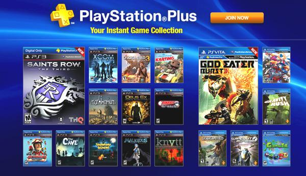 free games on psn plus ps4