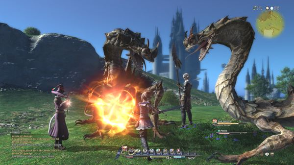 Final Fantasy 14 Producers Talk Lag And Area Attacks In The Beta
