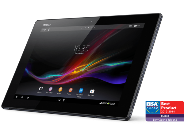 EISA European Tablet of the year Xperia Tablet Z