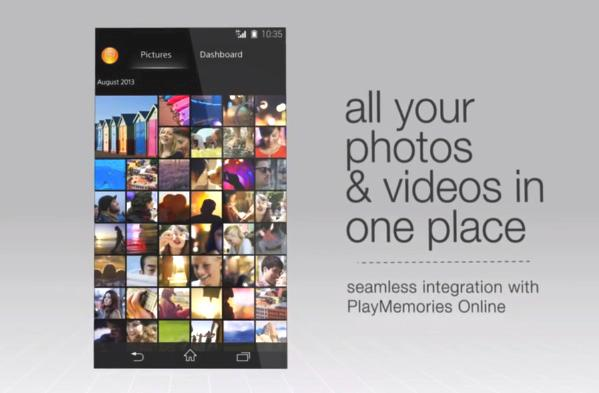 Sony Android 4.2 Walkman Album Movie App