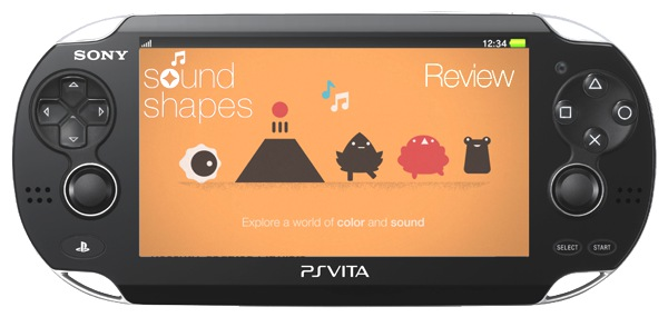 Featured Sound Shapes Review Vita