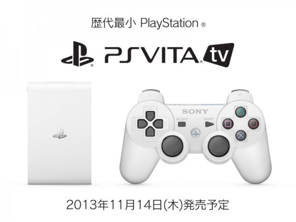 PS Vita TV now PlayStation TV