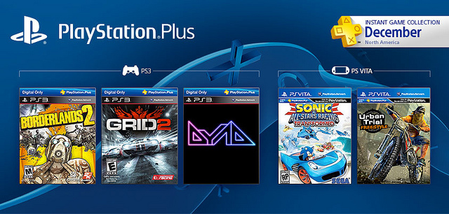 Dec. PS Plus