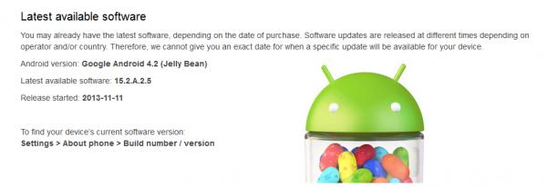 Xperia M Dual Update November
