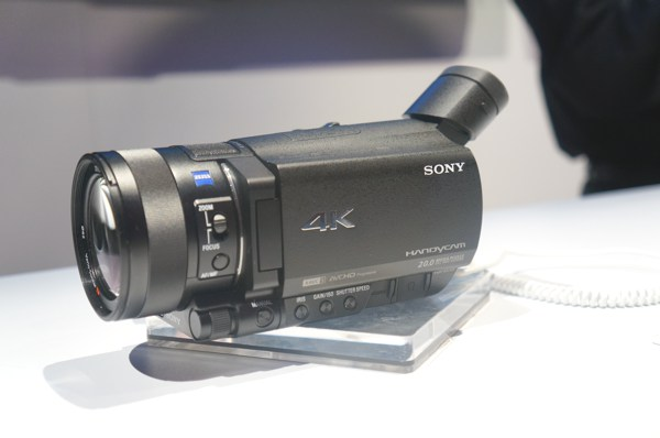 sony 4k handycam fdr ax100 preview 4k for 2k video. Black Bedroom Furniture Sets. Home Design Ideas