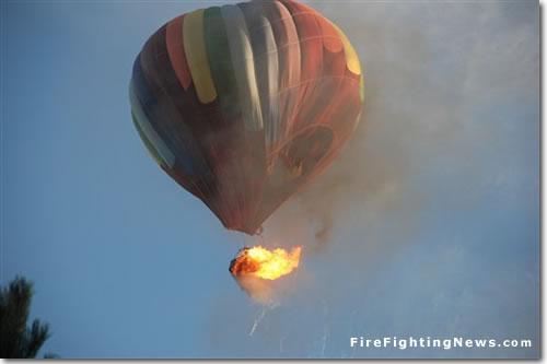 Hot Air Baloon Hole Crash