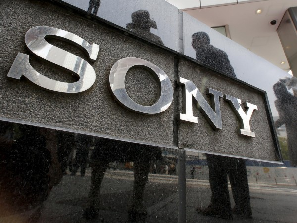 Sony Building Logo