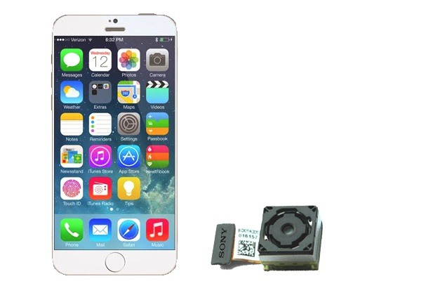 iPhone 6 Mockup - Sony Image Sensor