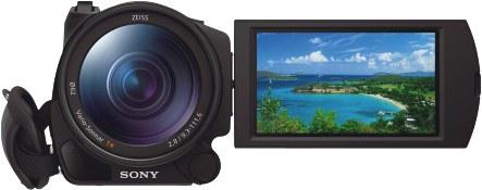 Sony_AX100_4K_Front