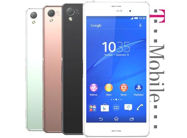 Xperia Z3 T Mobile Sony Xperia Z3 C...