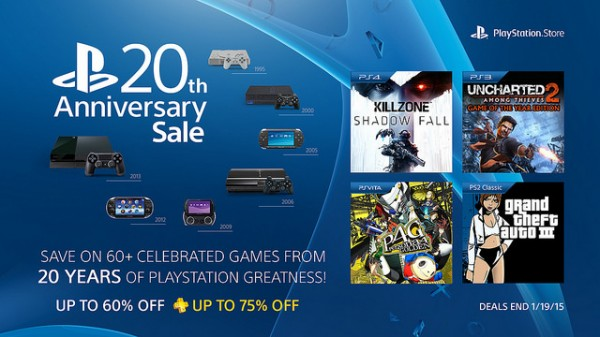 20th anniversary sale