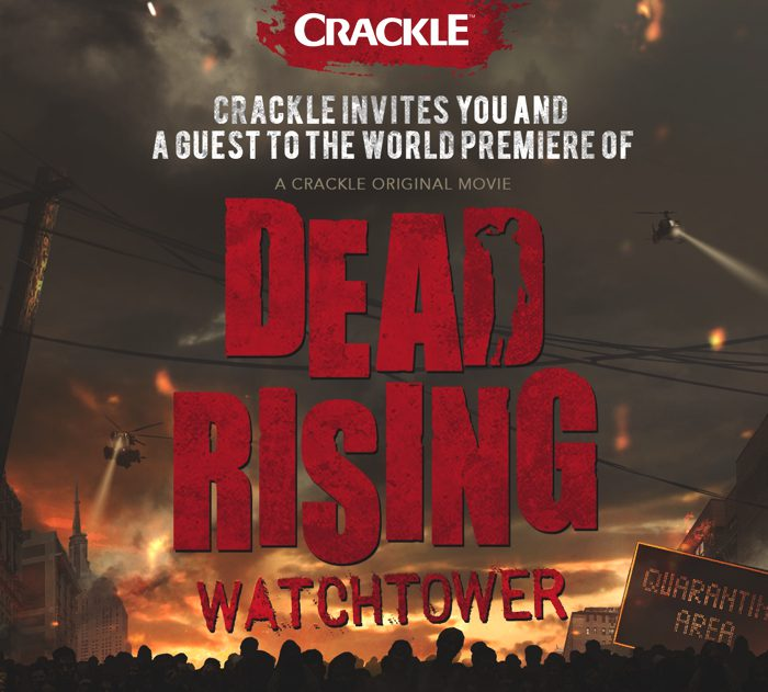 Dead Rising Watchtower Premieres Exclusively On Crackle On March 27th