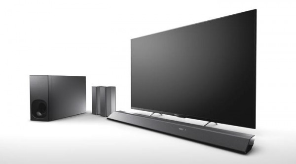 Sony Sound Bar HTRT5 Adds Wireless Rear Speakers to the Mix