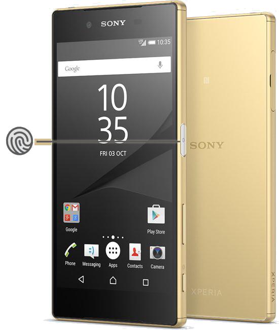 Sony Xperia Z5 - Fingerprint Sensors