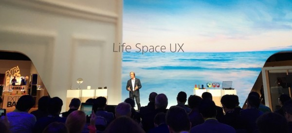 Sony CES 2016 - Mike Fasulo - Life Space UX