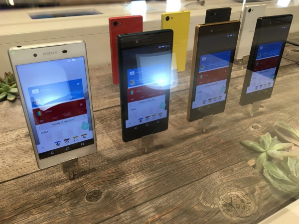 CES 2016 - Sony Xperia Z5 Compact
