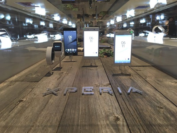 CES 2016 - Sony Xperia Z5 and Sony Xperia Z5 Compact