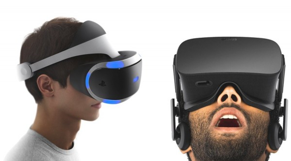 PlayStation VR and Oculus Rift