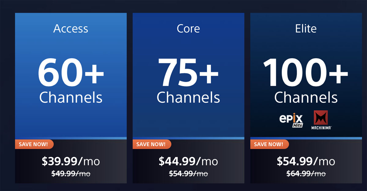 Cost Of Playstation Vue Off 64 Online Shopping Site For Fashion Lifestyle