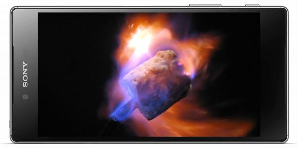 Sony_Xperia_Z5_Marshmallow_Fire