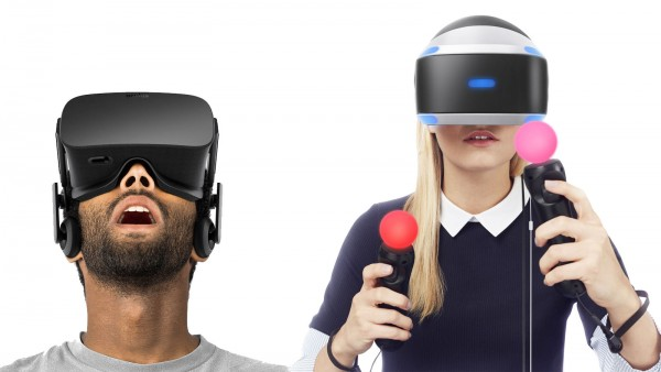 Oculus Rift and PlayStation VR