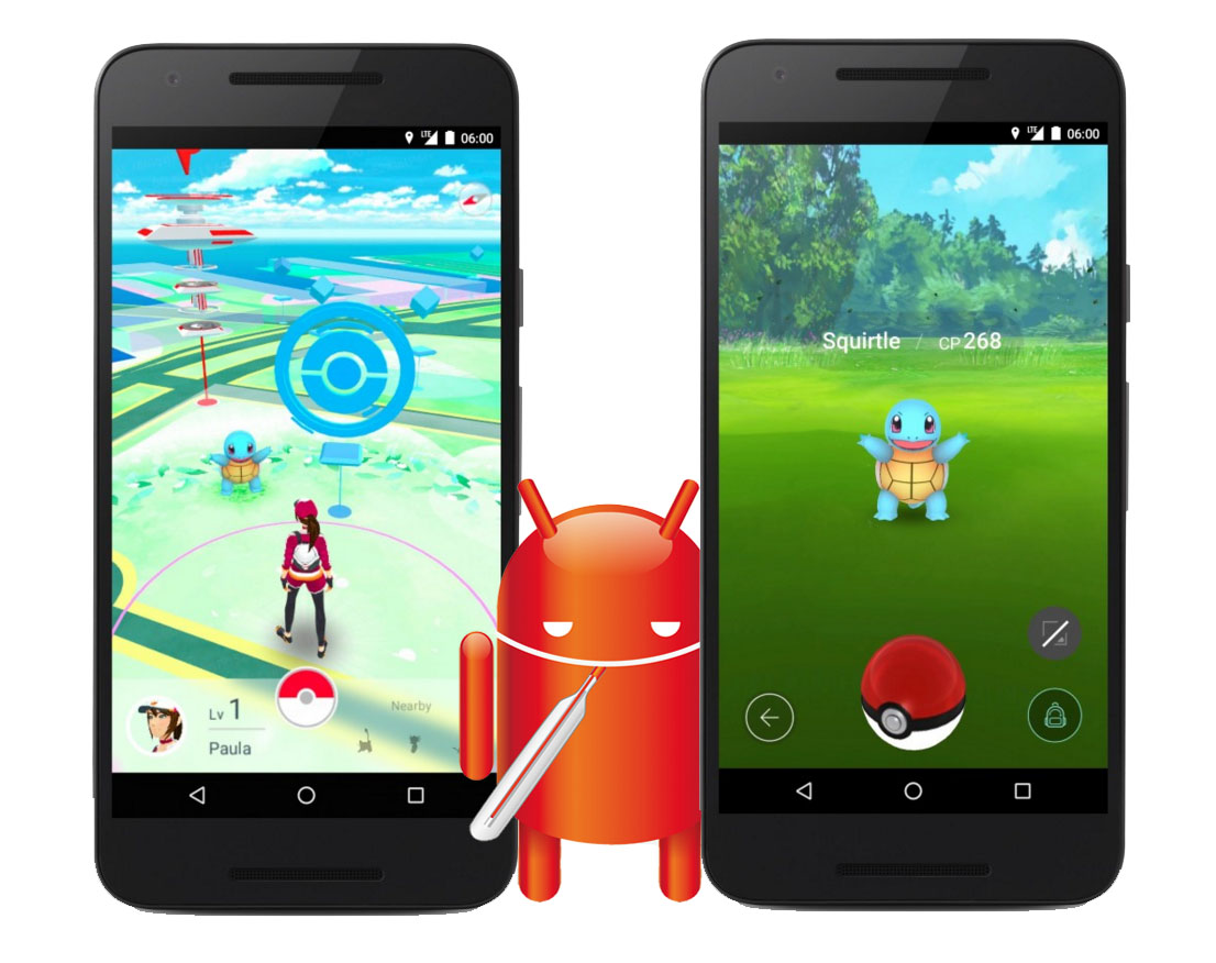 Pokemon icons android phone