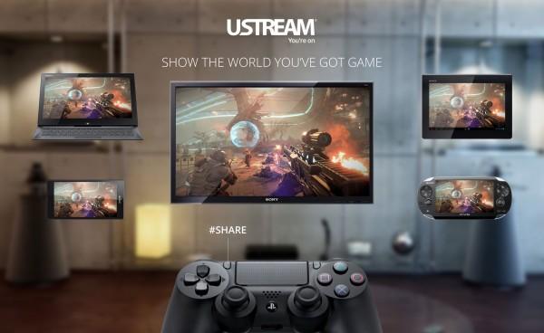 PS4 - Ustream
