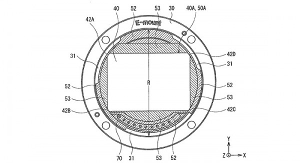 Sony E-mount Patent