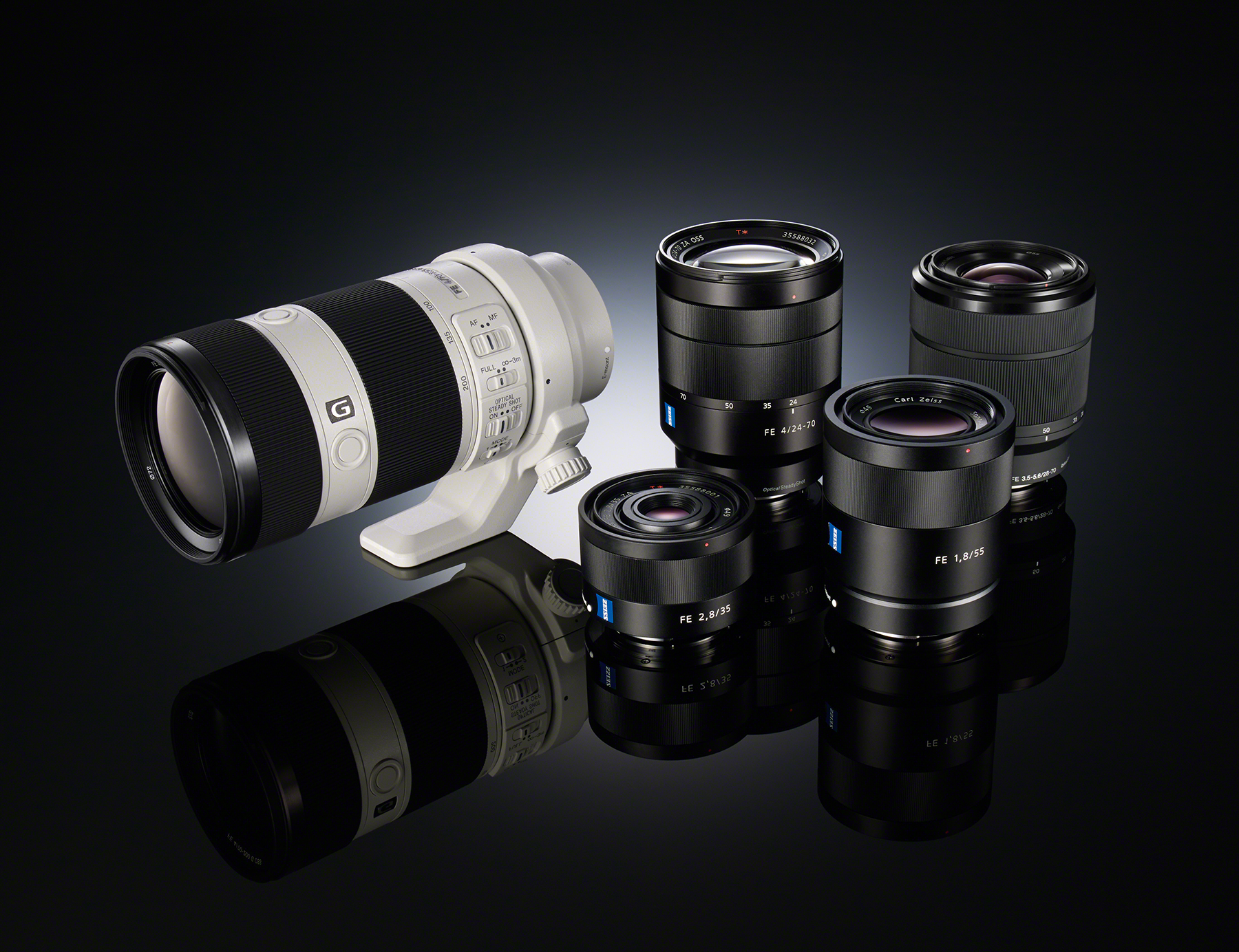 sigma to make fe lenses for sony e mount cameras