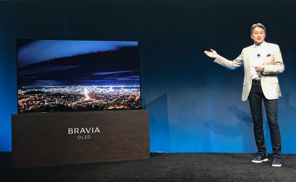 Sony_Kaz_Hirai_CES2017_Bravia_OLED_TV_Reveal