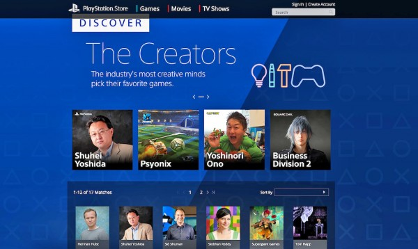 PlayStation_Store_The_Creators